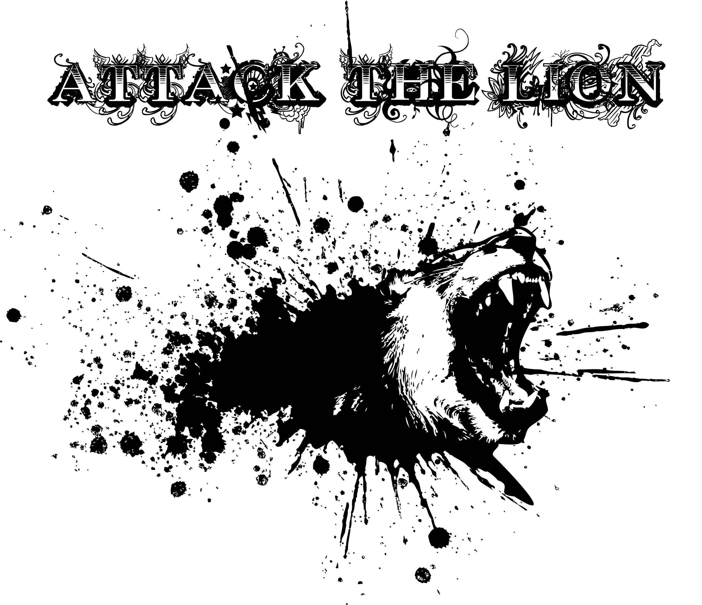 Attack the Lion Logo