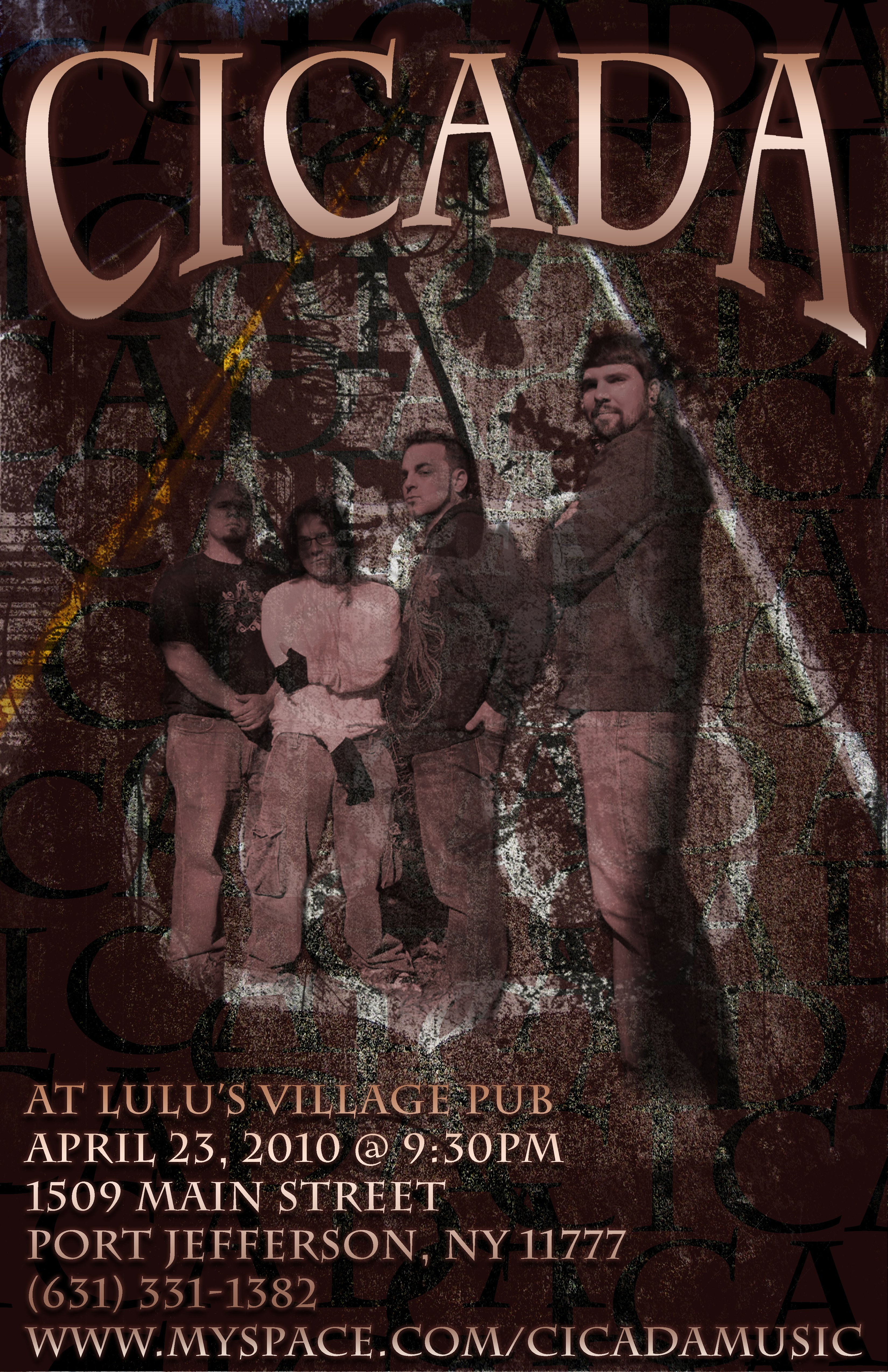Cicada Band Poster