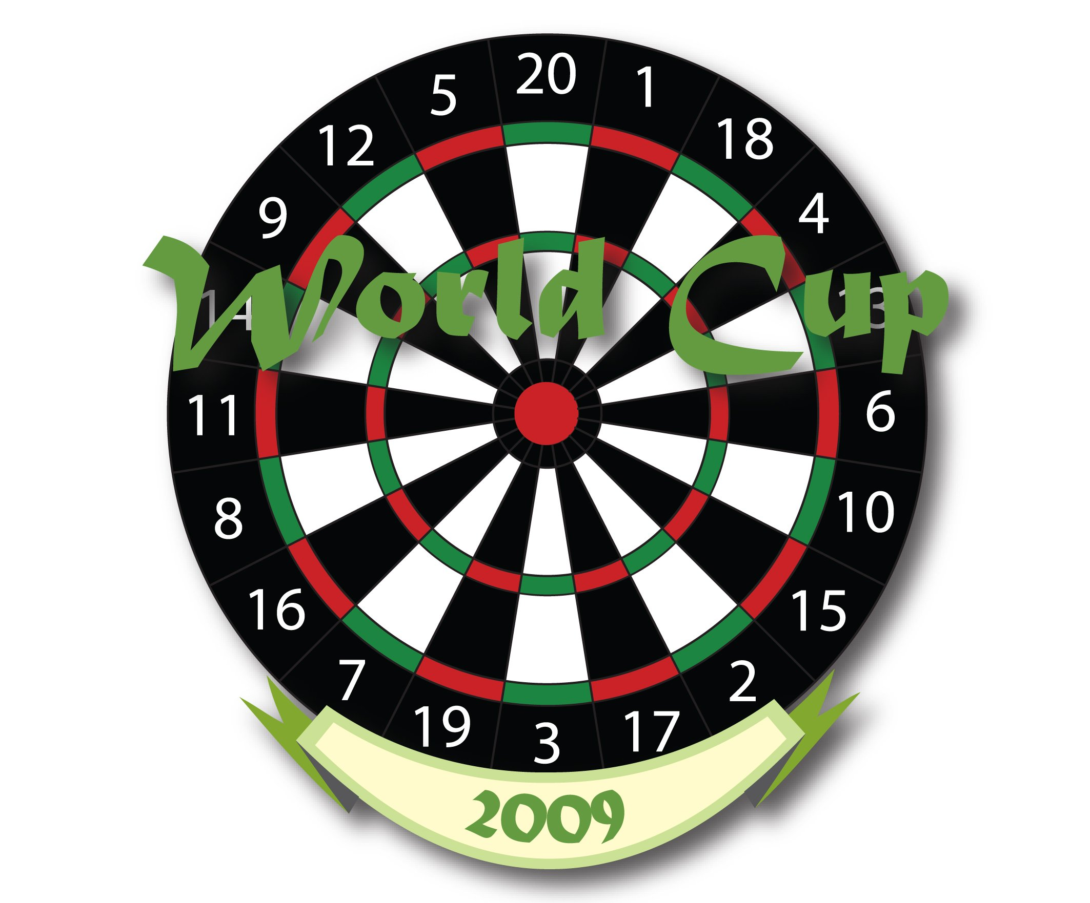 Illustrated Dart Board