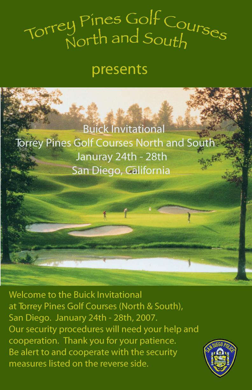 PGA Poster
