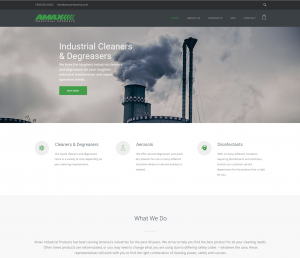 Amax Industrial Products Website